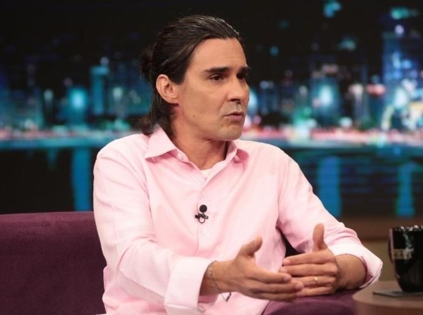 André Gonçalves em programa do Porchat (Foto: Reprodução)