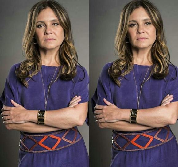 Adriana Esteves será Laureta na próxima novela das nove Segundo o Sol (Foto divulgação: Globo)