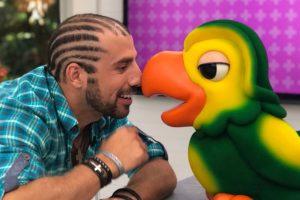 Kaysar Paredao. Foto do site da O TV Foco que mostra Kaysar é o único finalista convidado a voltar ao Mais Você após o BBB18