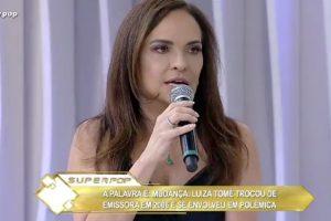 Celebridades Record. Foto do site da O TV Foco que mostra Luiza Tomé diz que estava bêbada quando detonou novela da Record e autor no Twitter