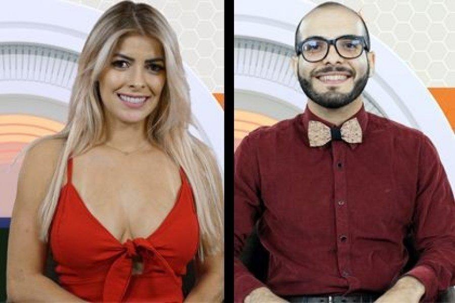 Mahmoud e Jaqueline Grohalski (Foto: Reprodução)