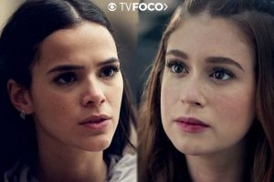 Novela Salve. Foto do site da O TV Foco que mostra Deus Salve o Rei: Catarina manda matar Amália e Virgílio