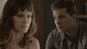Patrick e Clara em O Outro Lado do Paraíso (Foto: Reprodução)