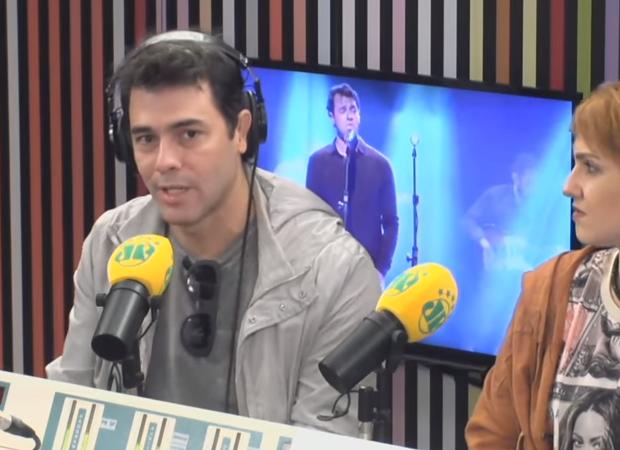 Torce Globo. Foto do site da O TV Foco que mostra Claudio Lins comenta polêmica com Zeca Camargo e torce para haver mudança no formato do Popstar