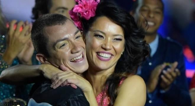Geovanna Tominaga venceu o Dancing Brasil 3 na Record (Blad Meneghel)