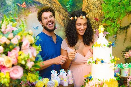 José Loreto e Débora Nascimento já são pais (Foto: Reprodução)
