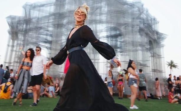 Fernanda Paes Leme no Coachella (Foto: Reprodução/Instagram)
