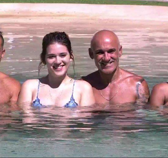 Kaysar, Ana Clara, Ayrton e Gleici estão na grande final do BBB18 (Foto: Divulgação/Globo)