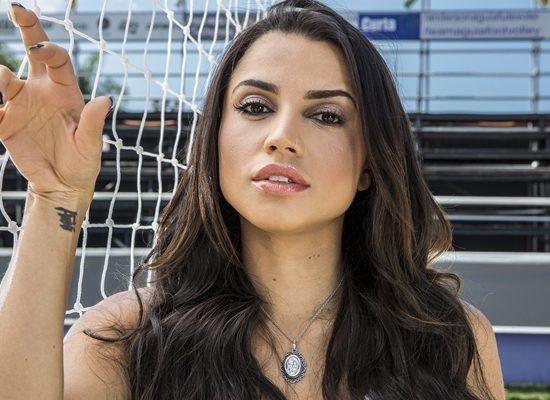 A ex-BBB18 Paula em ensaio exclusivo para o Gshow (Foto: Fábio Rocha/Gshow)