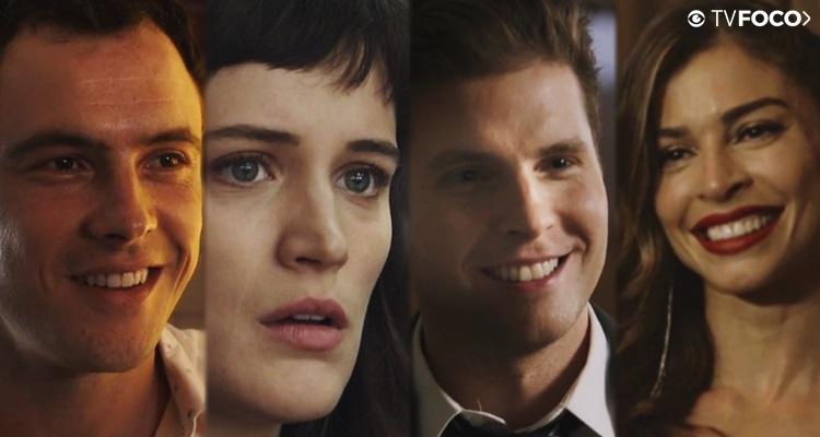 Personagens protagonistas se unem na trama das nove (Foto: Montagem/TV Foco)