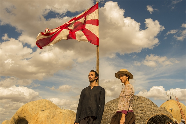 Samir (Irandhir Santos) e Aldina (Camila Mardila) (Foto: Globo/Estevam Avellar)