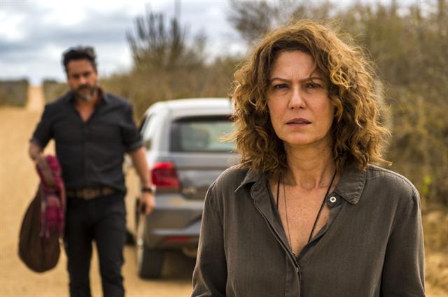 Cássia (Patricia Pillar) em cena de Onde Nascem os Fortes (Foto: Globo/Estevam Avellar)