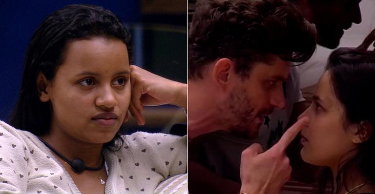 Gleici critica relacionamento de Emilly e Marcos no BBB17 (TV Globo/Reprodução)