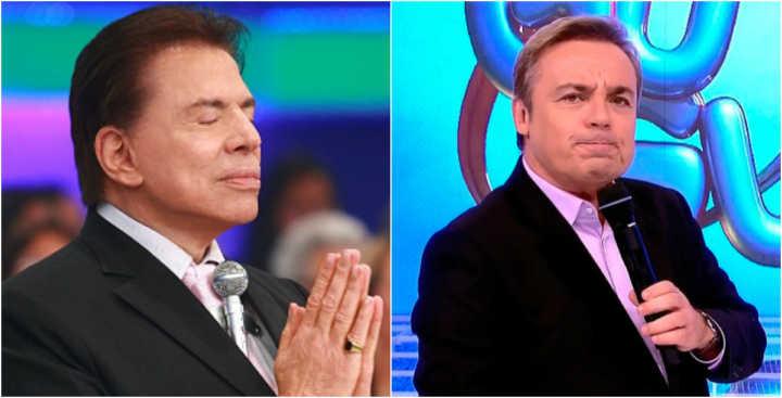 Silvio Santos vai receber presente das mãos de Gugu Liberato (Foto reprodução)