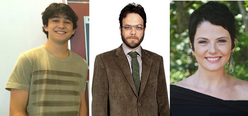 Rafael Gevú, Michel Bercovitch e Talita Castro estarão em Jesus (Foto: Reprodução)