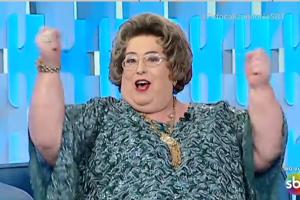 Mamma Bruschetta quebrou o jejum de 40 anos sem sexo (Foto: Reprodução)