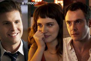 Novela Clara. Foto do site da O TV Foco que mostra O Outro Lado do Paraíso: Patrick ou Gael? Clara diz com quem vai ficar