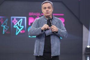 Gugu Liberato na estreia da terceira temporada do Power Couple Brasil (Foto: Edu Moraes/Record)