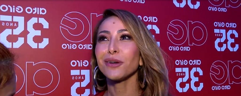 A apresentadora Sabrina Sato. (Foto: Reprodução)