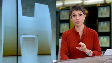 A apresentadora da Globo, Sandra Annenberg. (Foto: Reprodução)