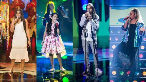 Eduarda Brasil, Mariah Yohana, Neto Junqueira e Talita Cipriano disputam a grande final (Foto: Divulgação/Globo)