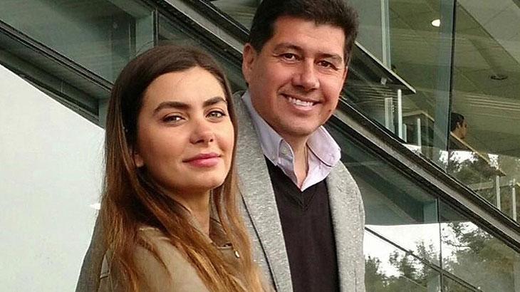 Letícia Datena ao lado do noivo, Rodrigo Norambuena. (Foto: Reprodução)