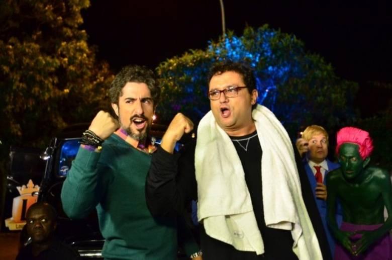 Marcos Mion e Geraldo Luís (Foto: Reprodução)