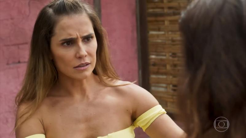 Karola(Deborah Secco) em cena de Segundo Sol (Foto: Reprodução/Globo)