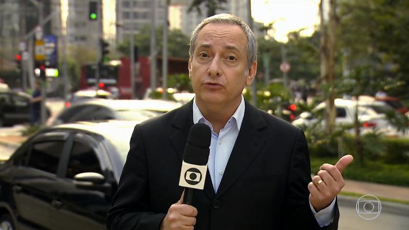 José Roberto Burnier em reportagem no Jornal Nacional (Foto: Reprodução/Globo)