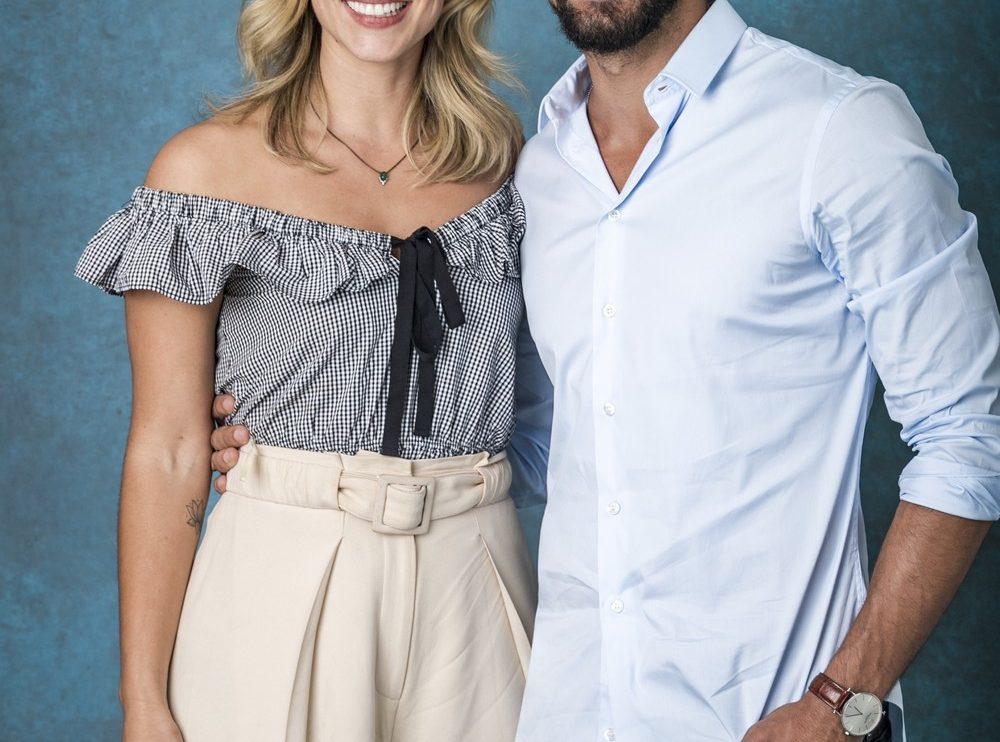 Paolla Oliveira e Cauã Reymond formaram par romântico (Foto: TV Globo/Paulo Belote)
