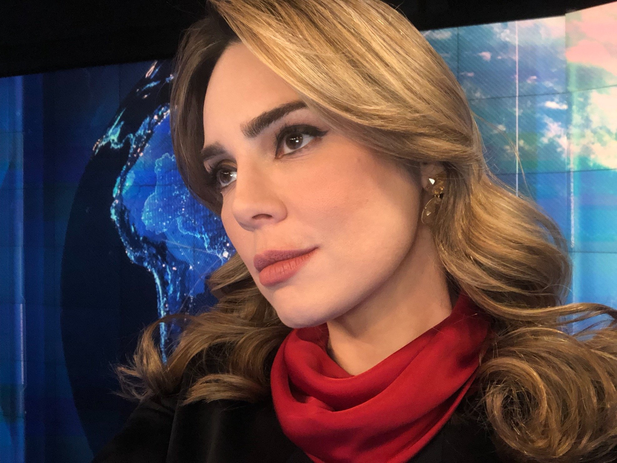 Resultado de imagem para Sheherazade jornalista