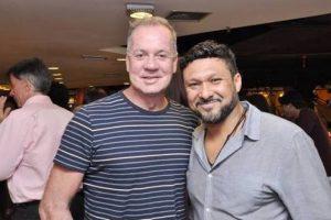Luiz Fernando e Adriano Medeiros (Foto: Reprodução)