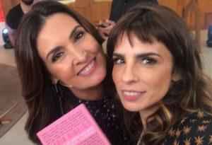 Fátima Bernardes e Maria Ribeiro (Foto: Divulgação)