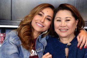 Sabrina e Dona Kika (Foto: Reprodução)
