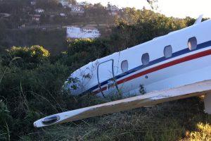 Avião que levava DJ Alok para show (Foto: Divulgação/Thiago Rocha)