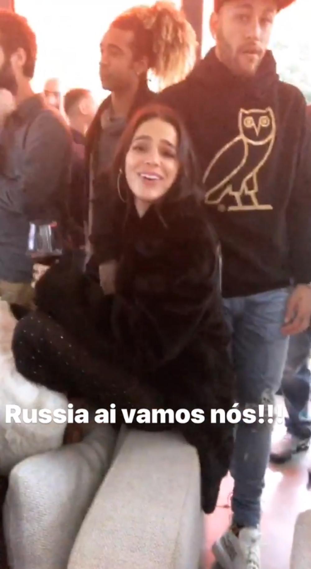 Bruna Marquezine e Neymar acompanharam convocação juntos (Foto: Reprodução/Instagram)
