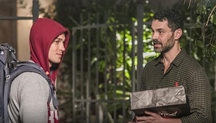 Márcio (André Luiz Frambach) e Rafael (Carmo Dalla Vecchia) em cena de Malhação (Foto: Globo/Paulo Belote)