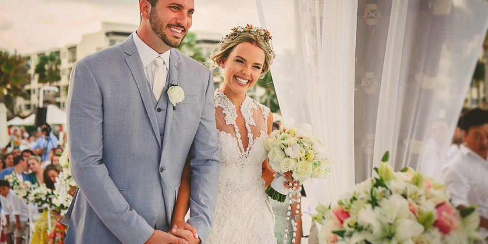 Casamento Thaeme Mariôto e Fábio Elias (Foto: Reprodução)