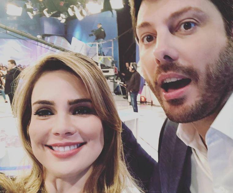 Danilo Gentili e Rachel Sheherazade (Foto: Reprodução/Instagram)
