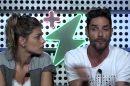 """Diego e Franciele Grossi no """"Power Couple Brasil"""" Imagem: Reprodução/Record"""
