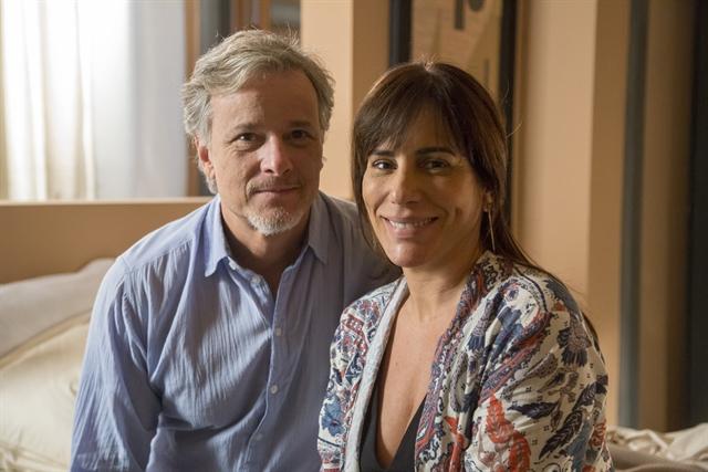 Renan (Marcello Novaes) e Beth (Gloria Pires) (Foto: Globo/Marília Cabral)
