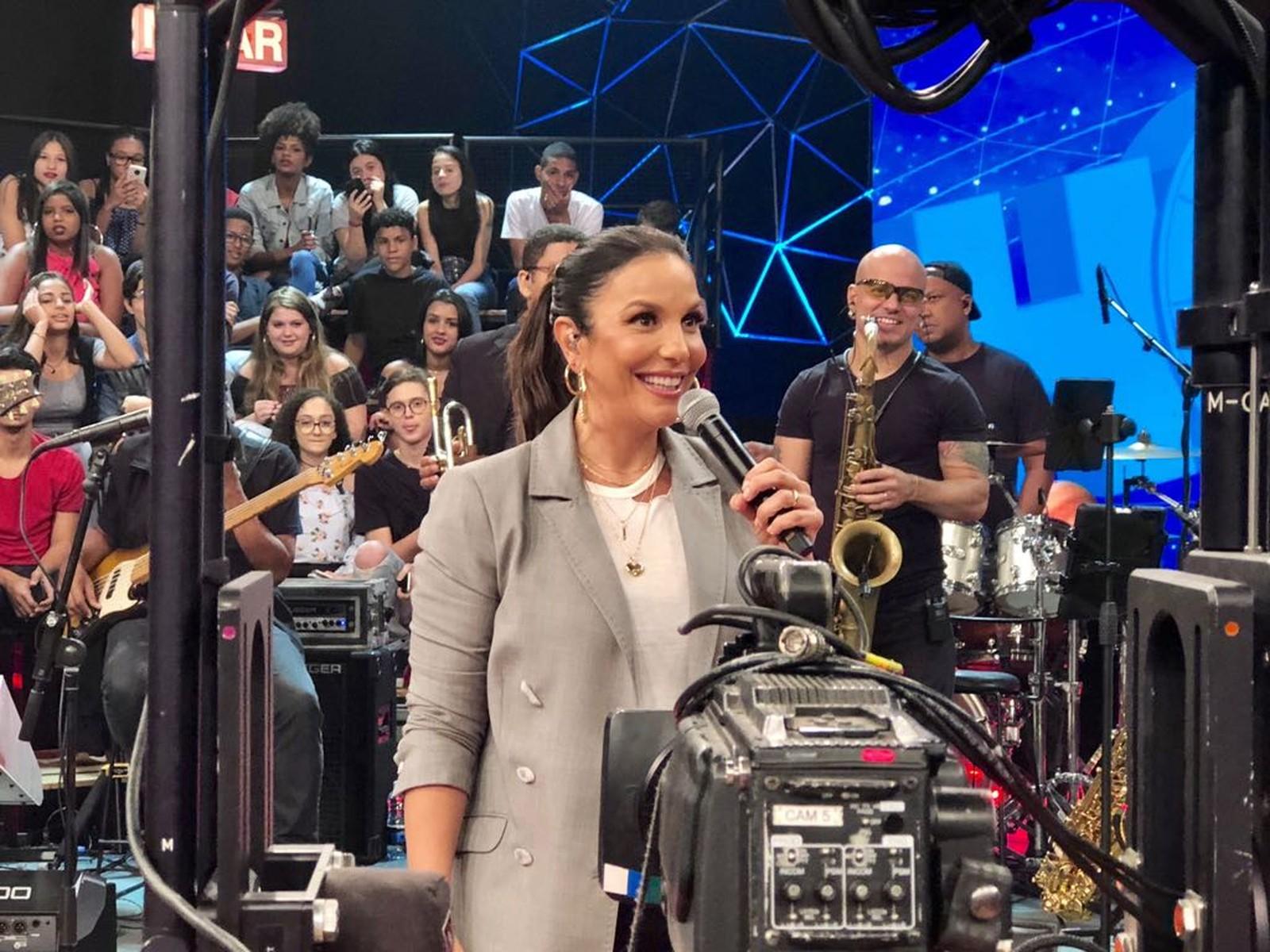 Ivete Sangalo participa da primeira gravação na TV após nascimento de gêmeas (Foto: Divulgação)