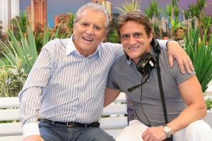 Carlos Alberto de Nóbrega e Marcelo de Nóbrega.. (Foto: Divulgação/SBT)