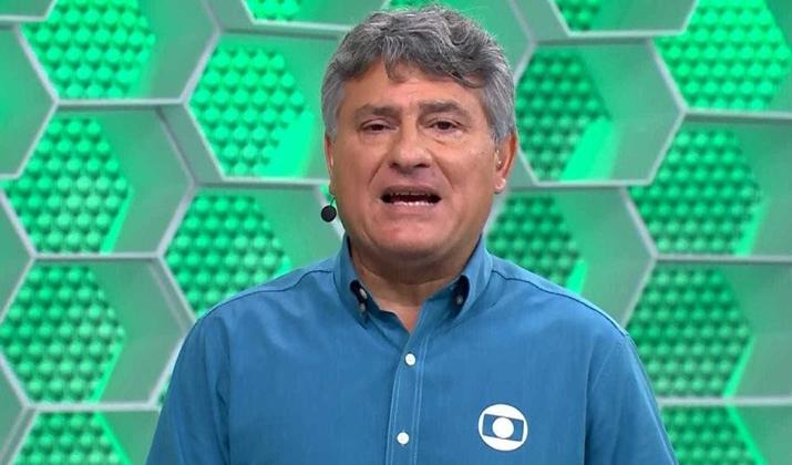 Cléber Machado renovou seu contrato com a Globo até 2022. (Foto: Reprodução)