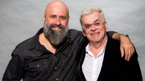 Diretor Mauro Mendonça Filho ao lado de Walcyr Carrasco. (Foto: Divulgação)