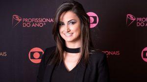 Mari Palma foi promovida à comentarista e repórter do departamento de esportes da Globo. (Foto: Divulgação)