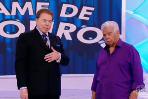 Silvio Santos e Roque. (Foto: Reprodução/SBT)