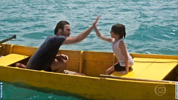 Erro em cena de Segundo Sol roubou a cena na estreia da novela na Globo (Foto reprodução)