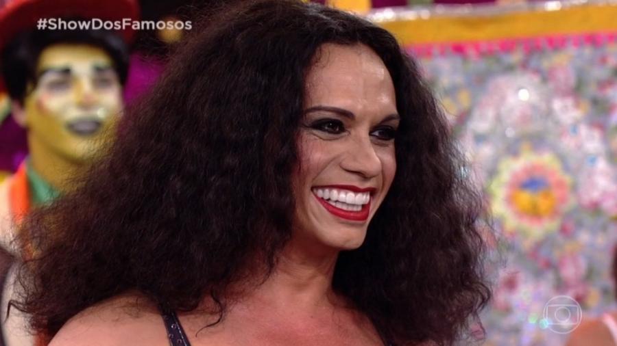 Silvero Pereira no Show dos Famosos (Foto: TV Globo)