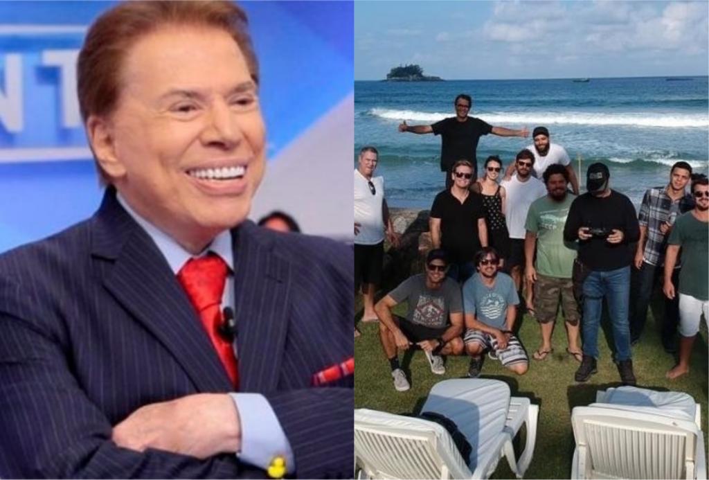 Silvio Santos ganha a Globo como vizinha (Foto montagem: TV Foco)